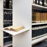 Archivo móvil mecánico biblioteca | Muebles de oficina Spacio
