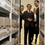 Archivo móvil mecánico pasillo | Muebles de oficina Spacio