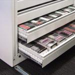 Archivos móviles eléctricos cajonera | Muebles de oficina Spacio