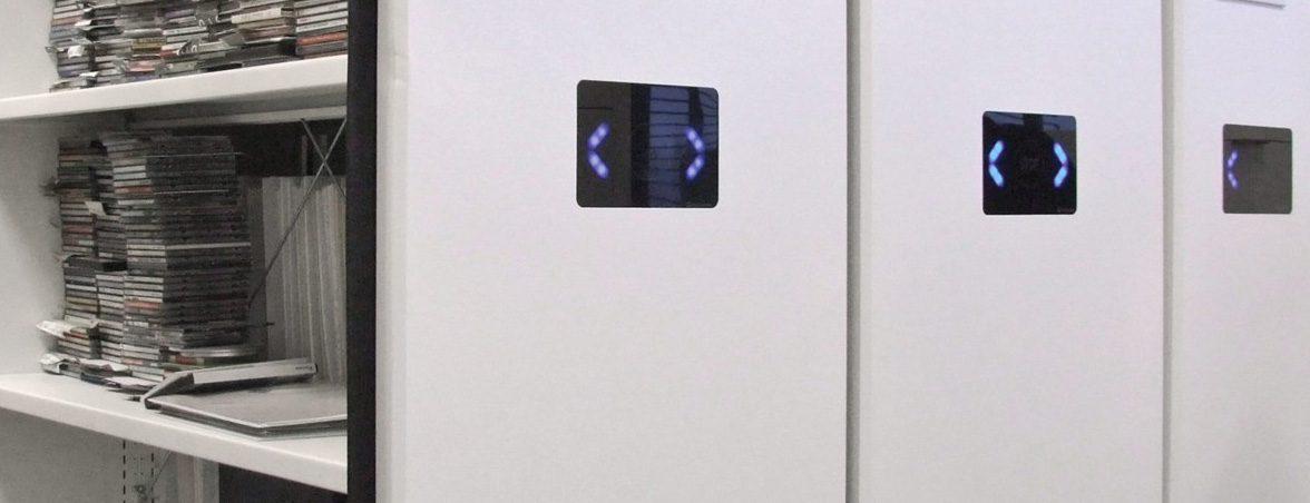 Archivos móviles eléctricos portada | Muebles de oficina Spacio