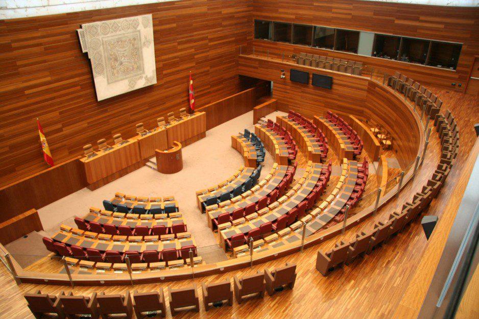 Auditorio Cortes CyL listado | Muebles de oficina Spacio