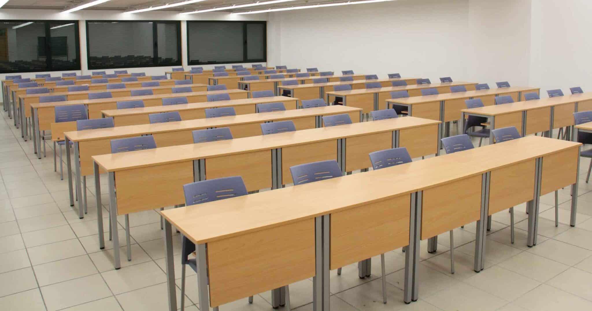 Equipamiento escolar UVA Spacio sin pala | Muebles de oficina Spacio
