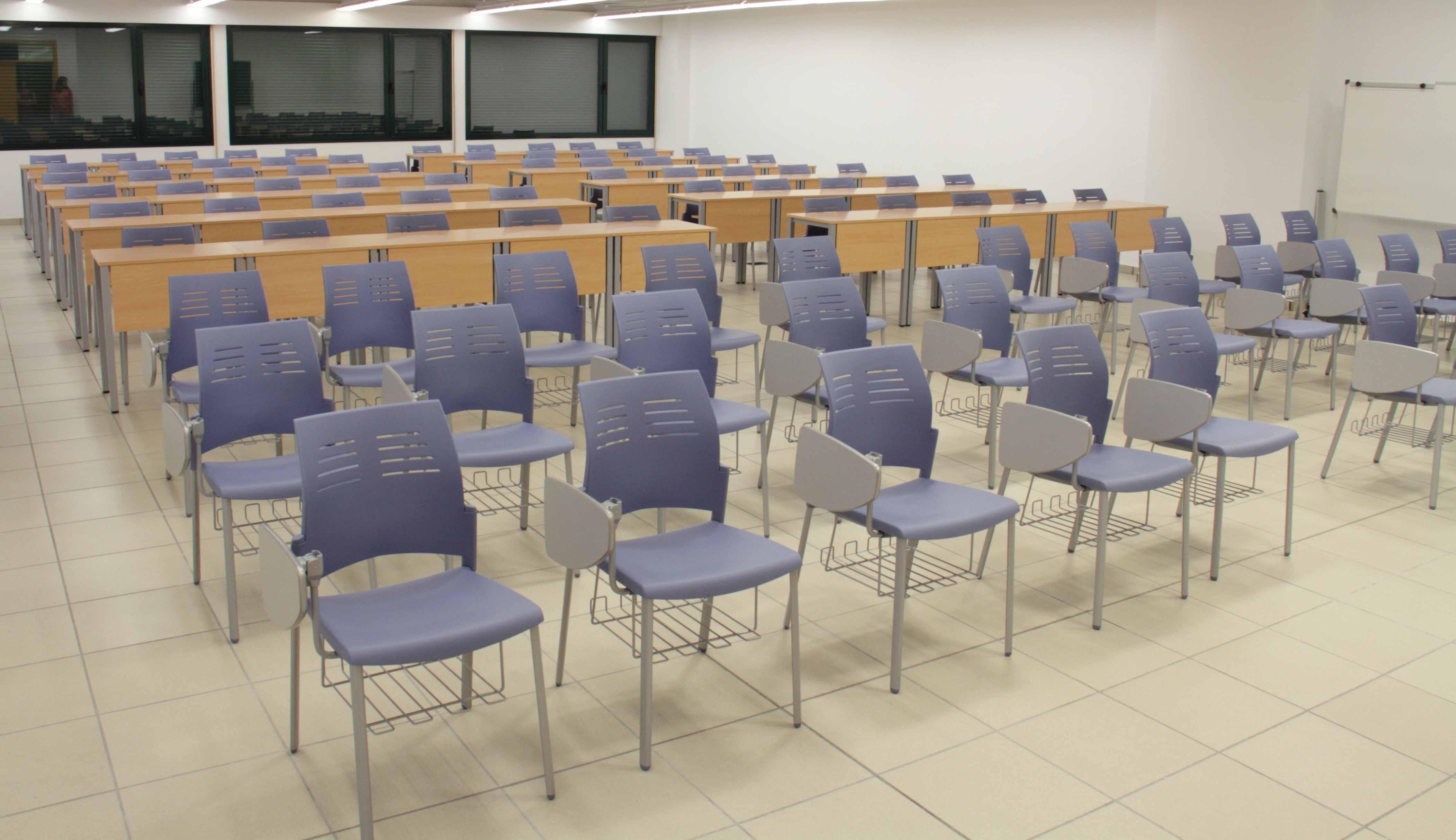 Equipamiento escolar UVA sillas Spacio alta | Muebles de oficina Spacio