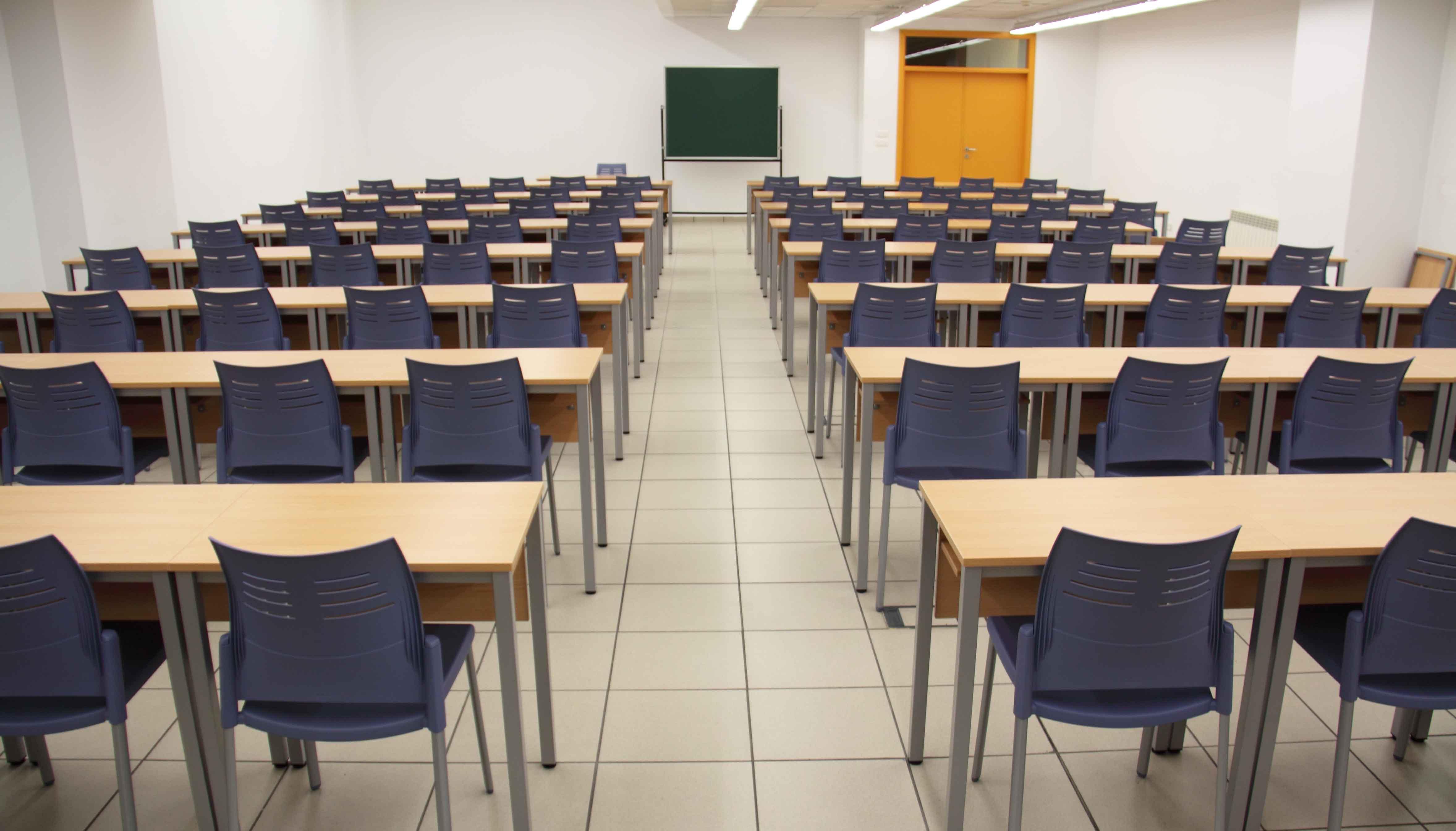 Equipamiento escolar UVA trasera | Muebles de oficina Spacio