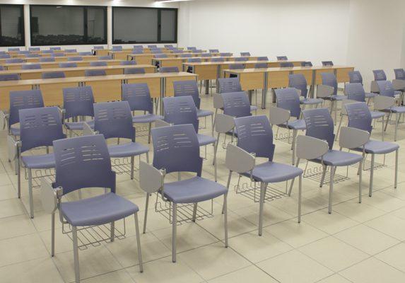Equipamiento escolar UVA sillas Spacio | Muebles de oficina Spacio