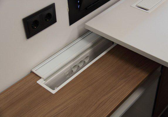 Equipamiento integral Aviporc detalle | Muebles de oficina Spacio