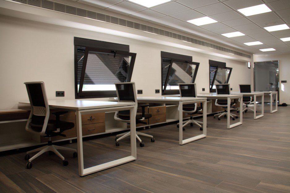Equipamiento integral Aviporc listado | Muebles de oficina Spacio