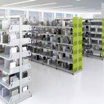 Estanterías metálicas Level biblioteca | Muebles de oficina Spacio