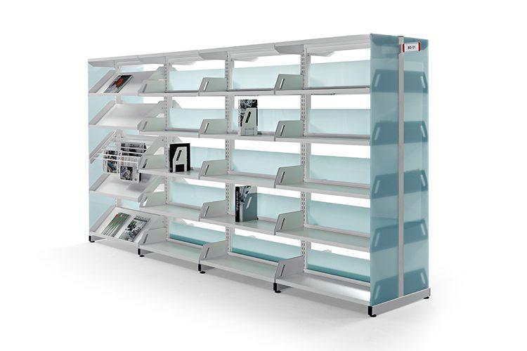 Estanterías metálicas Level listado | Muebles de oficina Spacio