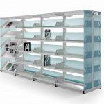 Estanterías metálicas Level perfil | Muebles de oficina Spacio