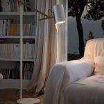 Lámpara sobremesa Scantling tulipa blanca | Muebles de oficina Spacio
