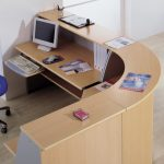 Mostrador Ofimat mostrador semicírculo | Muebles de oficina Spacio