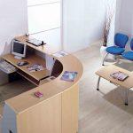 Mostrador Ofimat semicirculo | Muebles de oficina Spacio