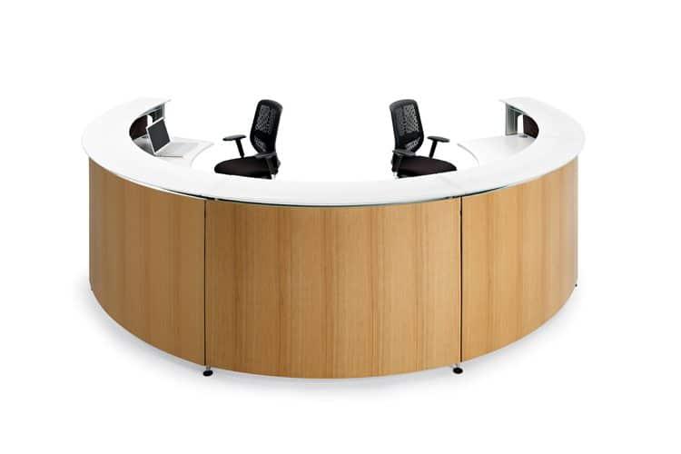 Mostradores recepción Informa listado | Muebles de oficina Spacio