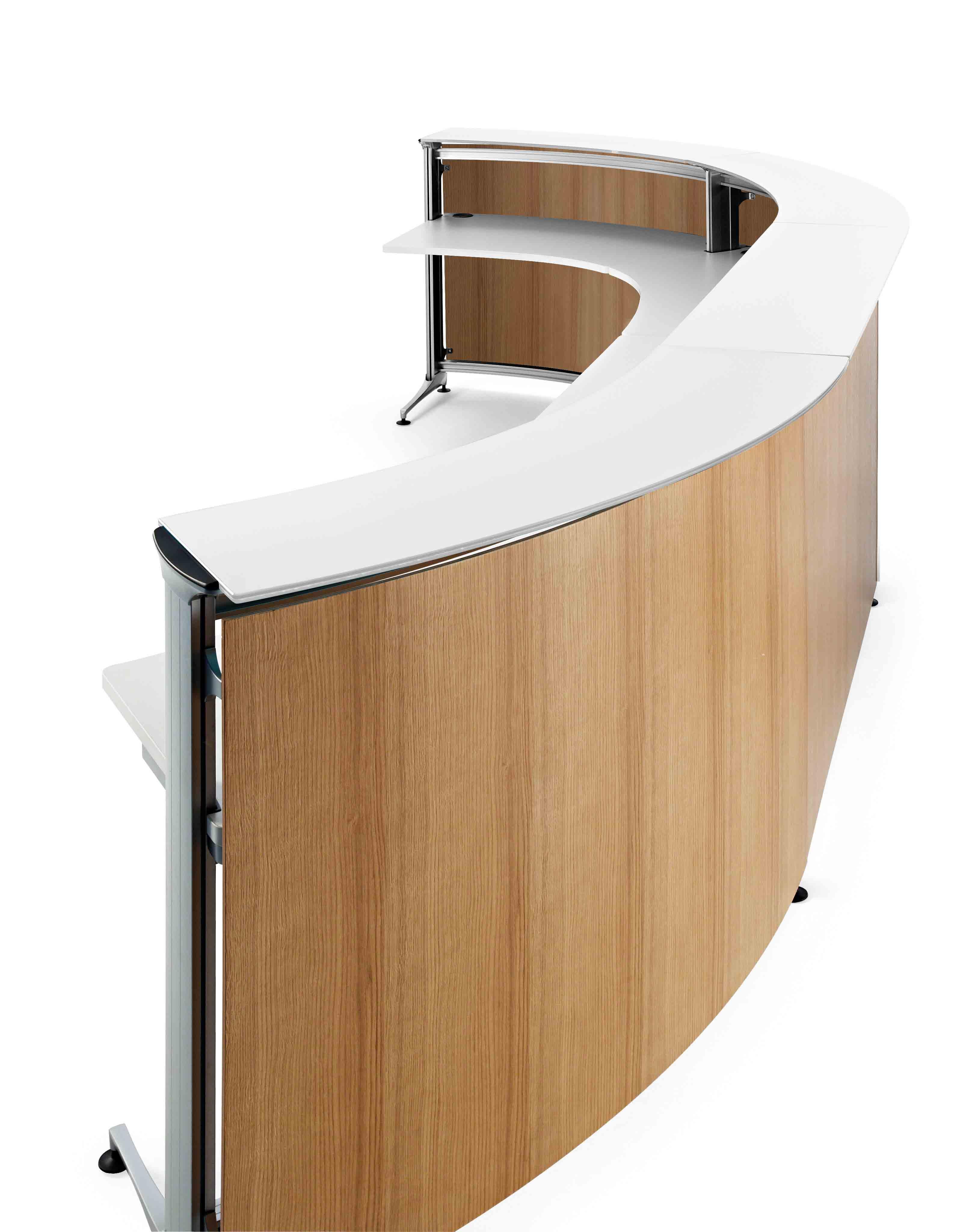 Mostrador recepci n actiu informa muebles de oficina spacio - Mostradores para oficinas ...