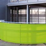 Mostradores recepción Informa semicirculo | Muebles de oficina Spacio