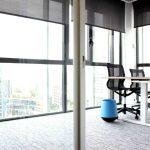 Papelera oficina Biel color azul | Muebles de oficina Spacio