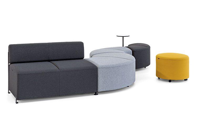 Asientos de oficina Bend listado | Muebles de oficina Spacio