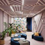 Asientos de oficina Bend zona descanso | Muebles de oficina Spacio