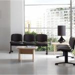 Bancada Fissa negra | Muebles de oficina Spacio