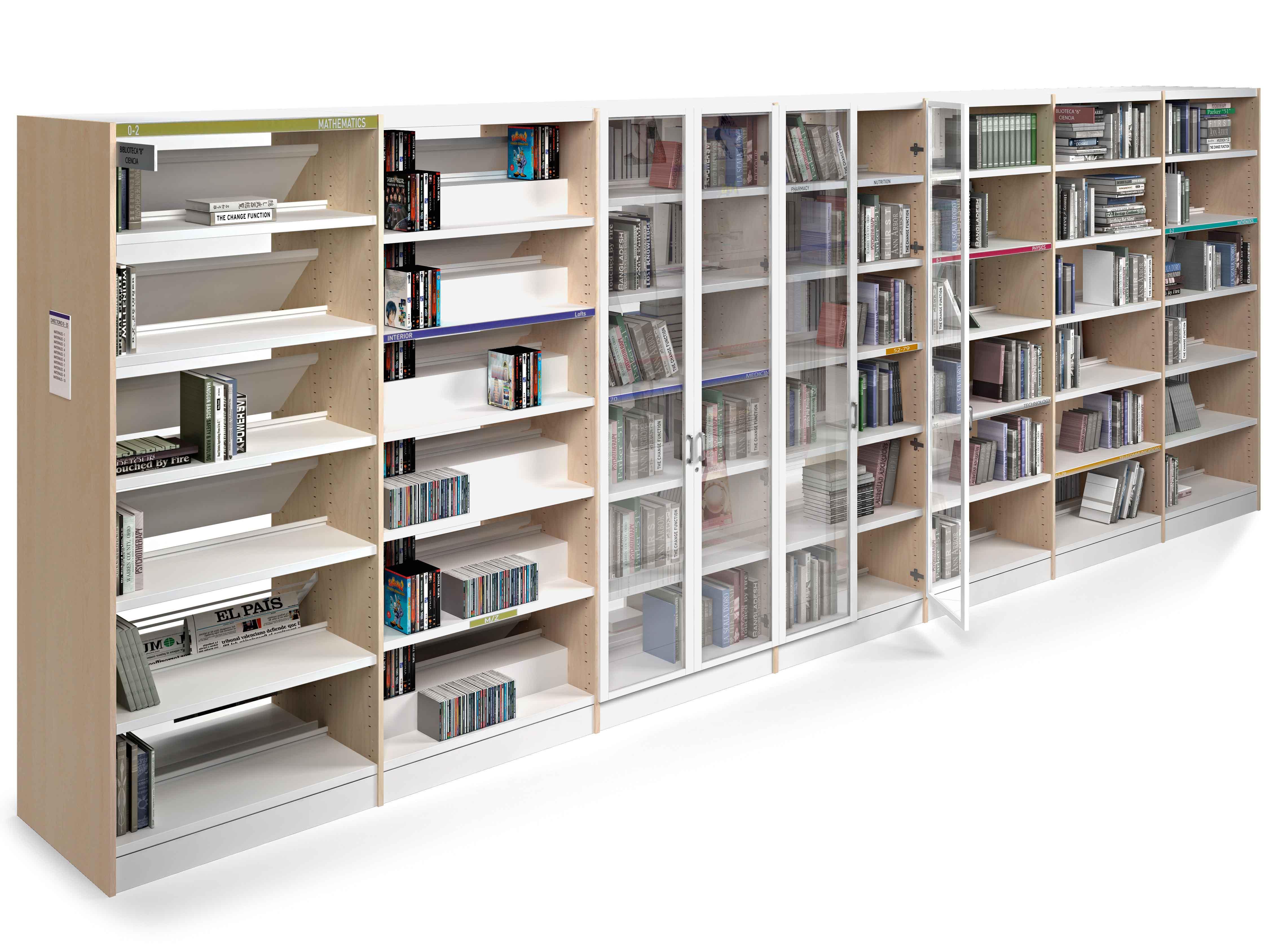 Muebles biblioteca mesas y estanter as muebles de - Muebles para almacenar ...