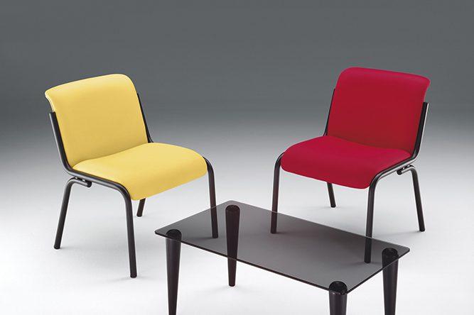 Silla para sala de espera palma muebles de oficina spacio - Muebles para sala de espera ...