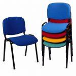 Sillas para sala de espera Fissa multicolor | Muebles de oficina Spacio