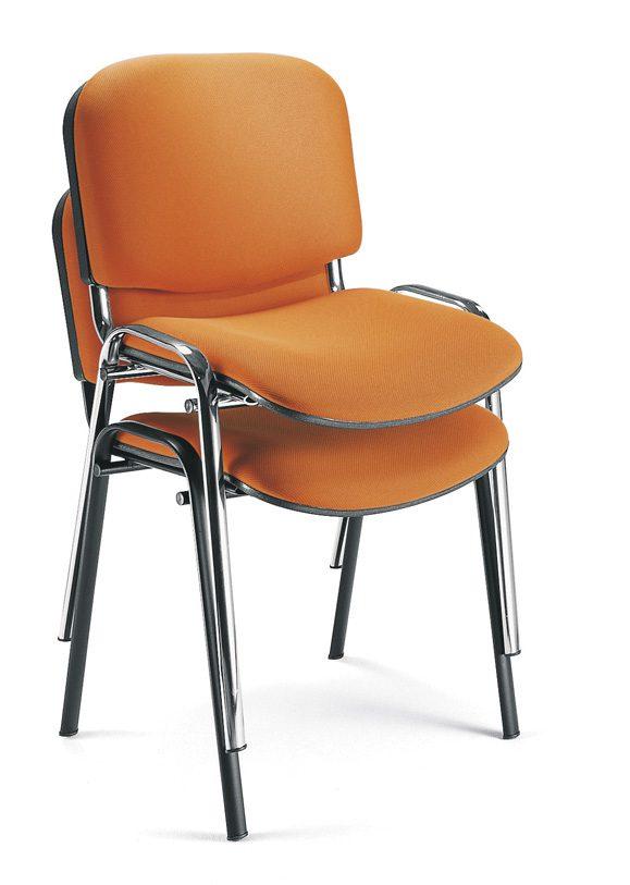 Sillas para sala de espera fissa muebles de oficina spacio - Muebles para sala de espera ...