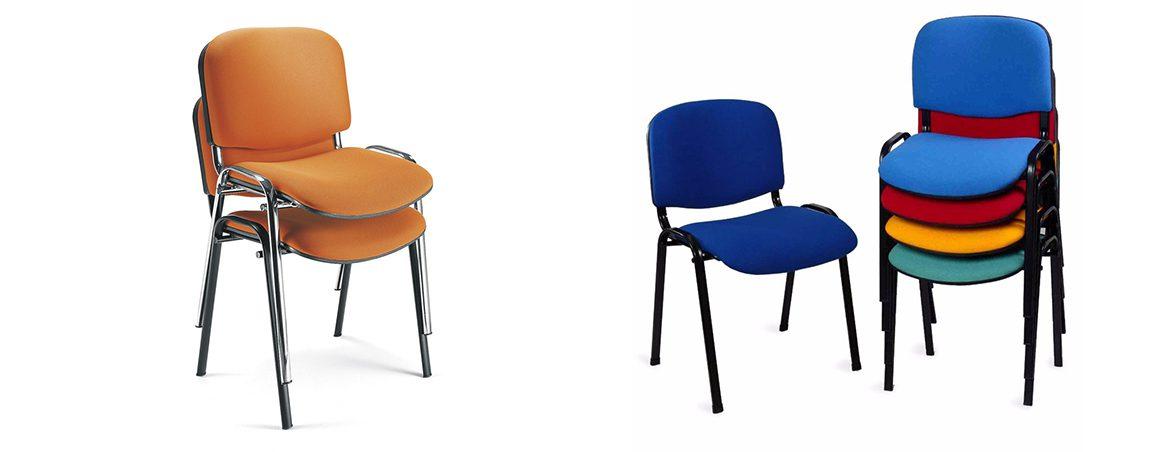 Sillas para sala de espera Fissa portada | Muebles de oficina Spacio