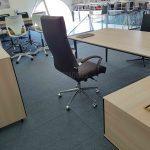Sillón para oficina Vulcano vista trasera | Muebles de oficina Spacio