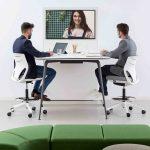 Taburete Efit mesa reunión | Muebles de oficina Spacio