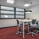 Taburetes con respaldo Urban oficina Renault | Muebles de oficina Spacio