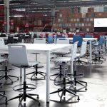 Taburetes de trabajo Mit banquetas con topes | Muebles de oficina Spacio