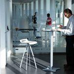 Taburetes de trabajo Mit blanco | Muebles de oficina Spacio