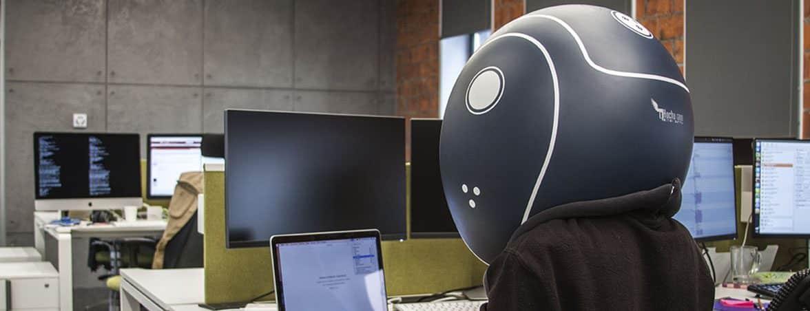 Aislamiento en la oficina casco | Muebles de oficina Spacio