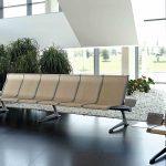 Bancada sala de espera Passport madera | Muebles de oficina Spacio