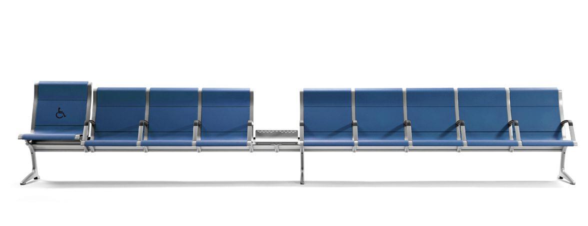 Bancada sala de espera Passport portada | Muebles de oficina Spacio