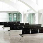Banco de espera Transit negra | Muebles de oficina Spacio