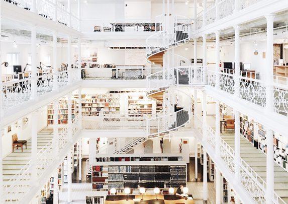 Bibliotecas del mundo | Muebles de oficina Spacio