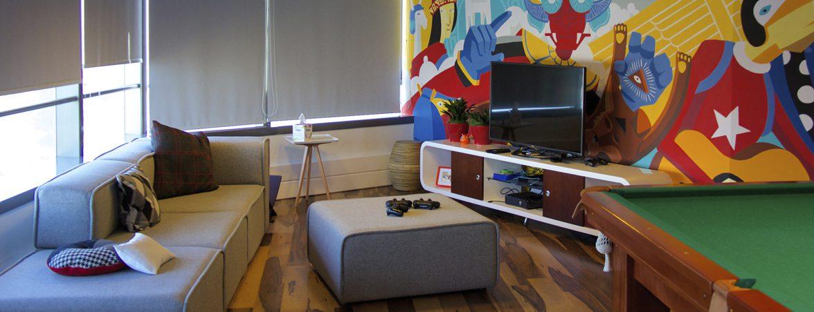 Employer branding sala de ocio | Muebles de oficina Spacio