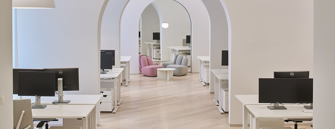 Espacio de trabajo arcos | Muebles de oficina Spacio
