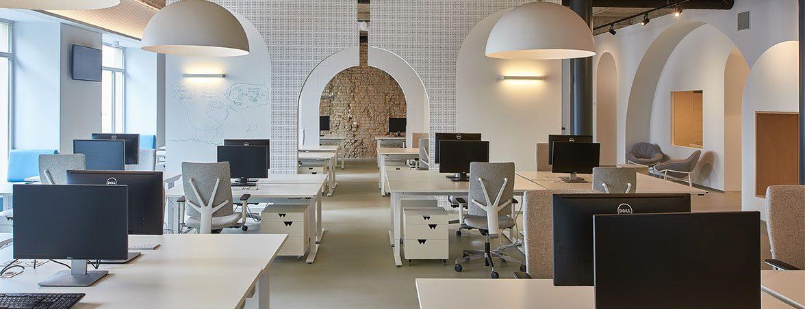 Espacio de trabajo con silla Cinco | Muebles de oficina Spacio