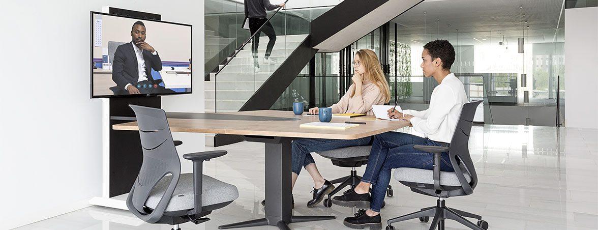 Espacios de trabajo dinámicos | Muebles de oficina Spacio