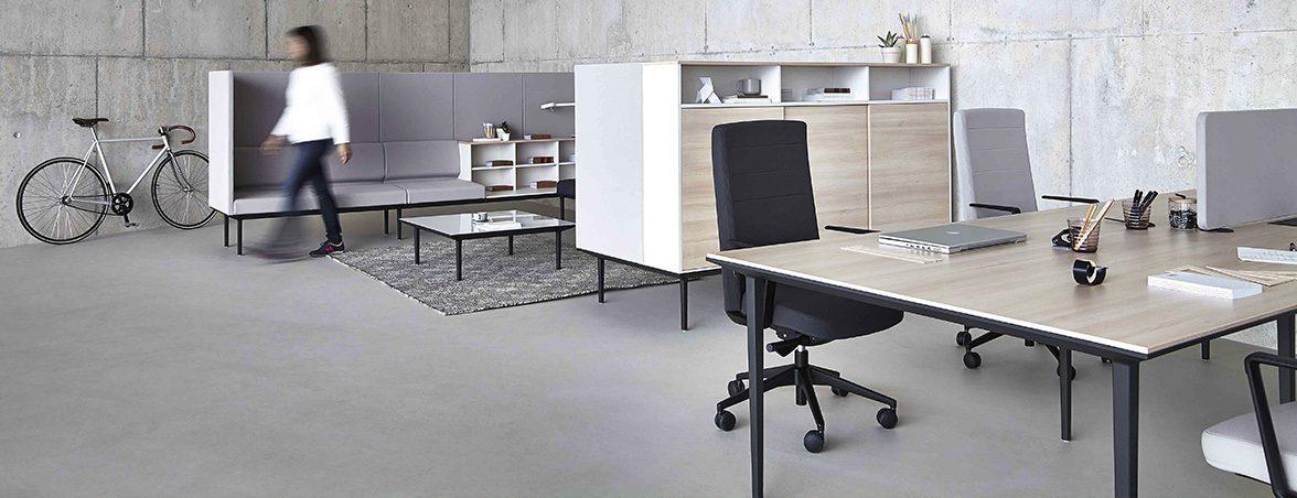Espacios de trabajo hot desking | Muebles de oficina Spacio