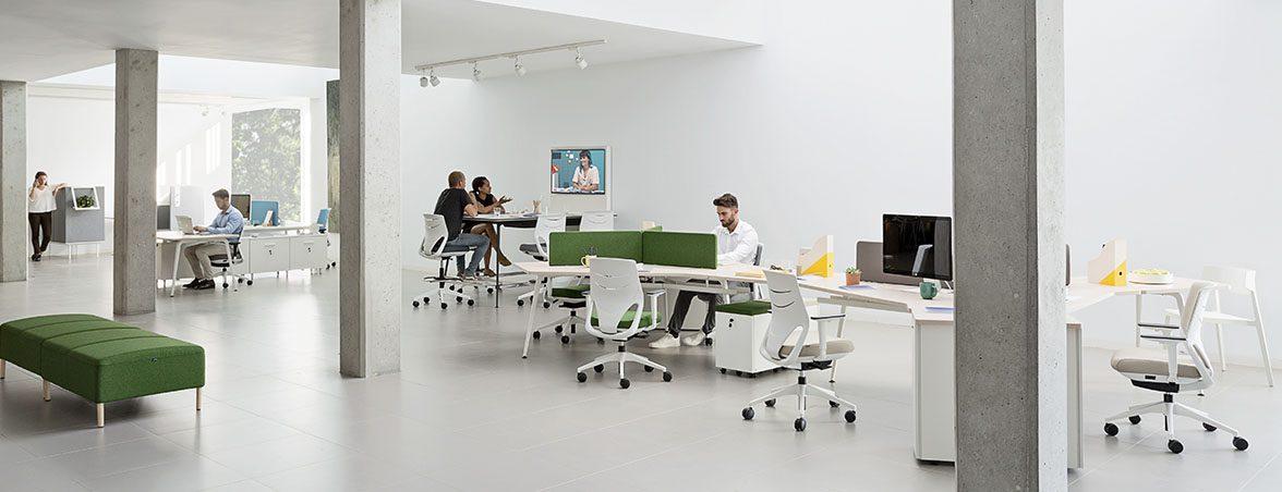 Espacios de trabajo multipuesto | Muebles de oficina Spacio