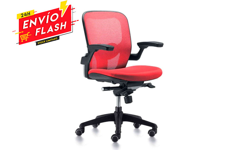 Foto listado silla gioconda roja entrega 24h | Muebles de Oficina Spacio