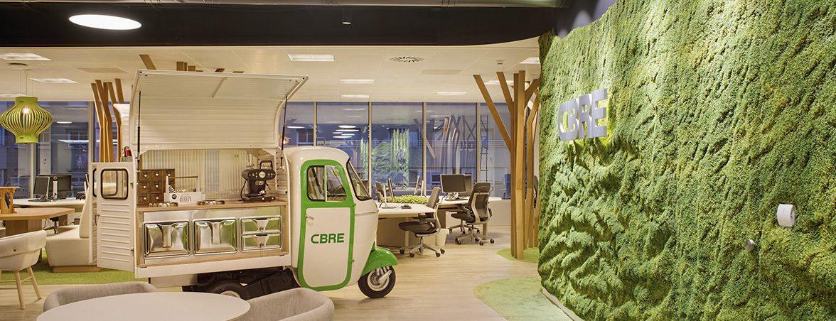 La oficina más saludable food truck | Muebles de oficina Spacio
