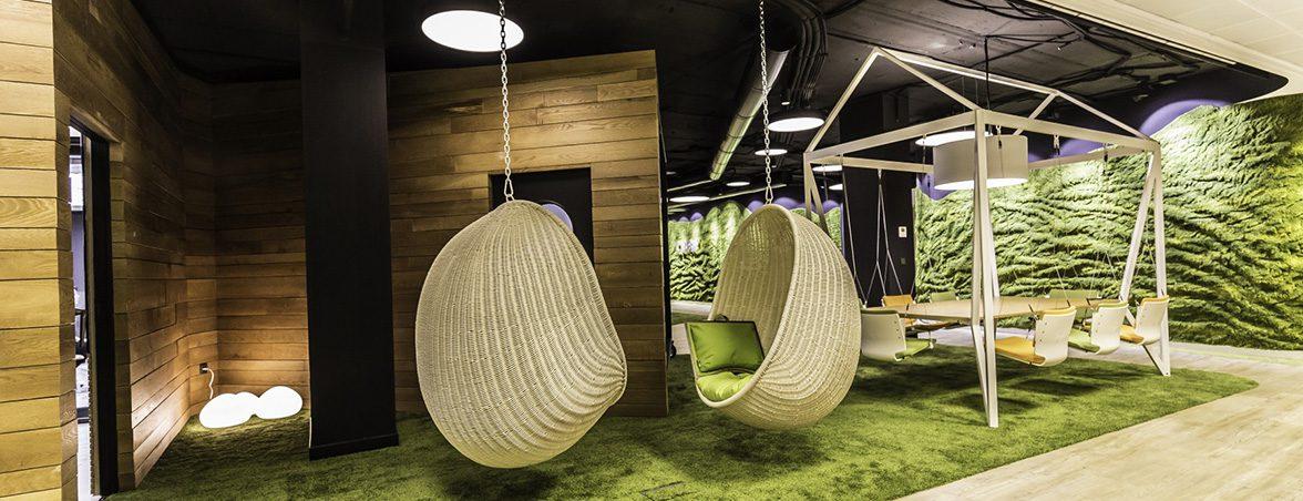 La oficina más saludable hamacas | Muebles de oficina Spacio