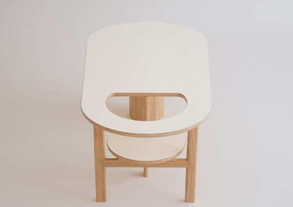Mesa de centro Boida cenital | Muebles de oficina Spacio