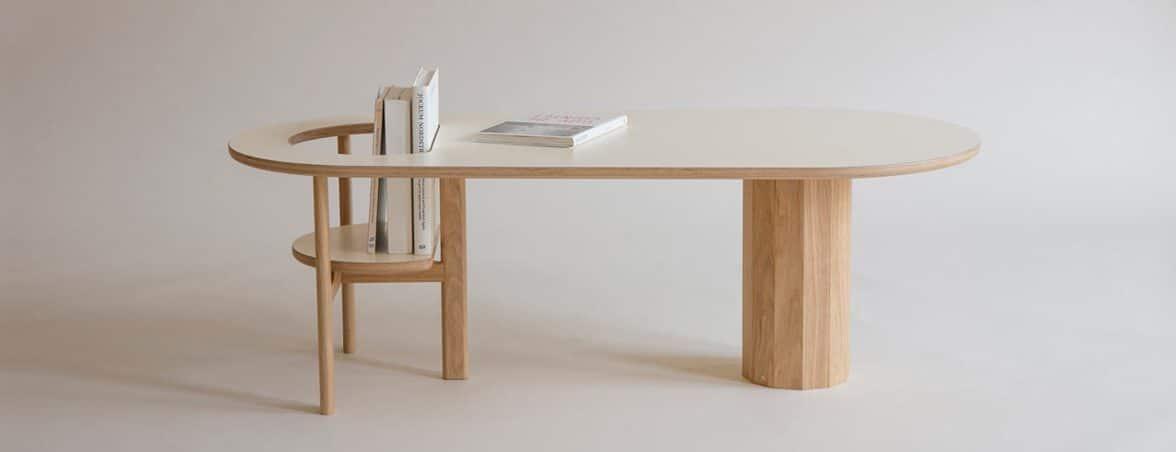 Mesa de centro Boida lateral | Muebles de oficina Spacio